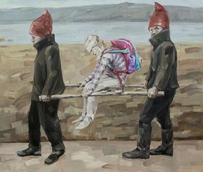 Topi Ruotsalainen, 'Wounded pupil', 2015