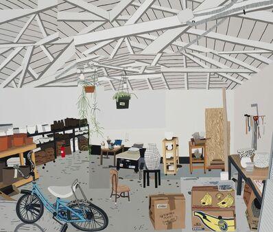 Jonas Wood, 'Shio's Studio on Palms', 2015