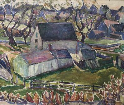 Edith Lake Wilkinson, 'Provincetown Farm Scene', ca. 1916