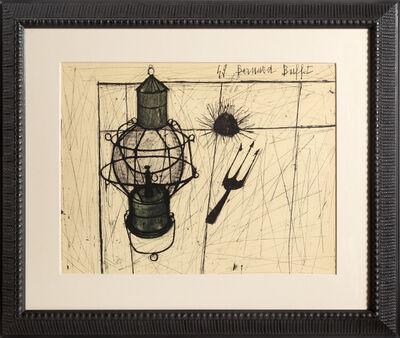 Bernard Buffet, 'Oursins et Lampe à Petrole ', 1960