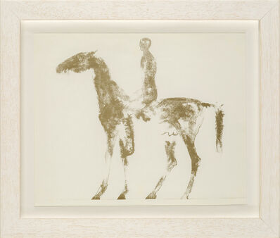 Elisabeth Frink, 'Small Horse and Rider [Wiseman 40]', 1970