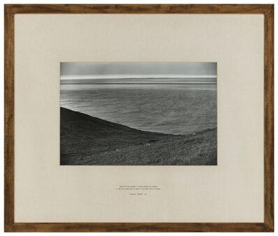 Hamish Fulton, 'France on the Horizon', 1976
