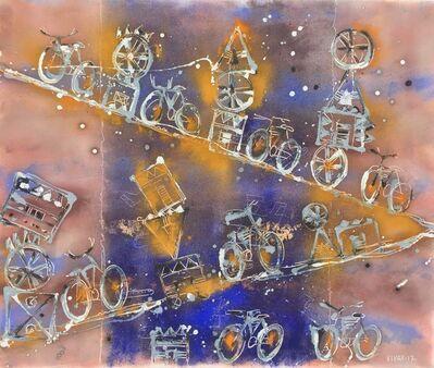 Carlos Vivar, 'Sueño con Bicicletas', 2017