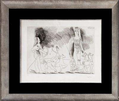Pablo Picasso, 'ÉCUYERES ET JONGLEUSE (BLOCH 1482)', 1968