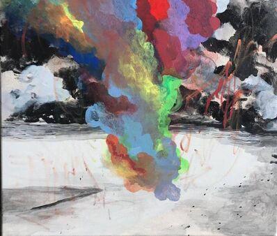 Hanna Ilczyszyn, 'Rainbow Smoke-3', 2017
