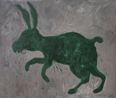 Vincent Leow, 'Green Hare', 2012