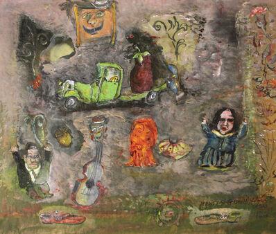 James Martin, 'Medieval Garden, Shoes, Violin', 2014