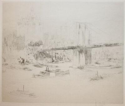 William Walcot, 'Brooklyn Bridge', 1923