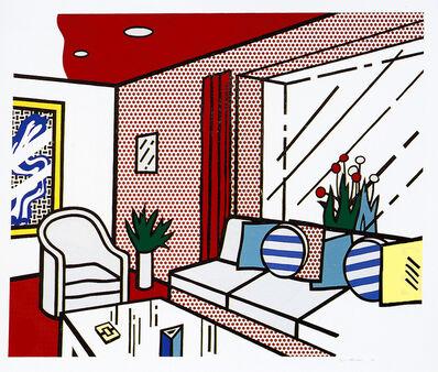 Roy Lichtenstein, 'The Living Room', 1990