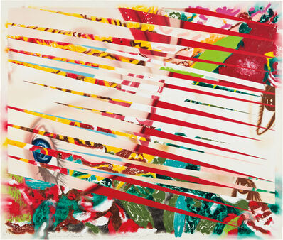 James Rosenquist, 'Flowers and Females', 1986