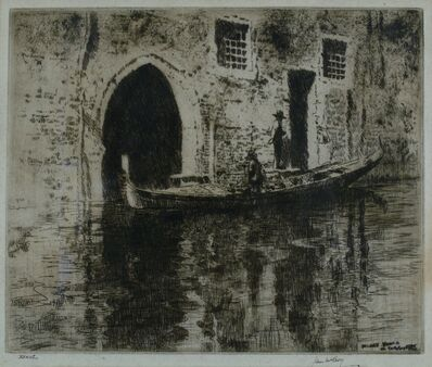 James McBey, 'The Deserted Palace', 1928