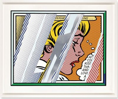 Roy Lichtenstein, 'Reflections Series: Reflections on Girl', 1990