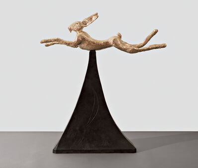 Barry Flanagan, 'Moon Gold Hare', 2008