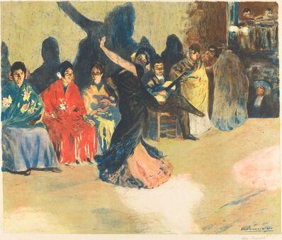 Alexandre Lunois, 'Les panaderos', 1905