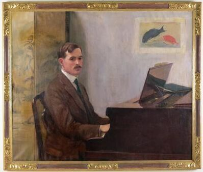 Lilla Cabot Perry, 'Edward Ballantine at a Piano', 1933