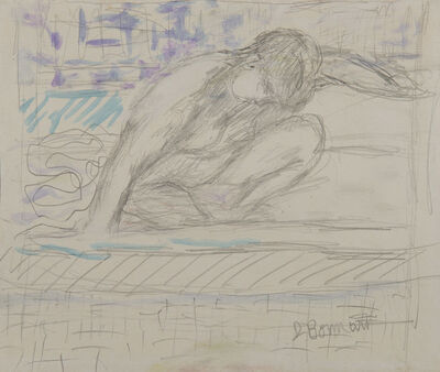 Pierre Bonnard, 'Nu accroupi', 1867-1947