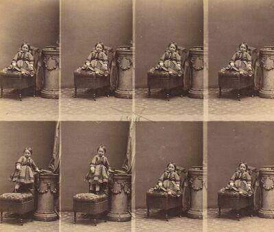 André Adolphe-Eugené Disdéri, 'Mademoiselle Trachier', ca. 1860