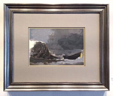 Georges Braque, 'Marine Noir', 1960