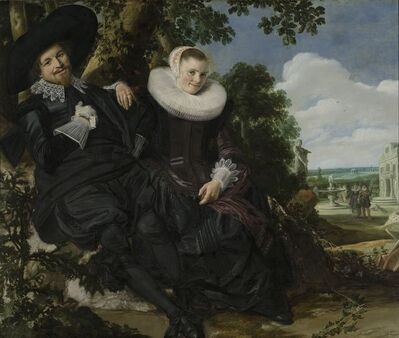Frans Hals, 'Portrait of a Couple, Probably Isaac Abrahamsz Massa and Beatrix van der Laen', ca. 1622