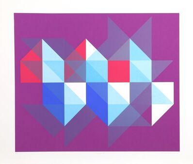 Arnold Hoffmann, Jr., 'Triangle M', circa 1970