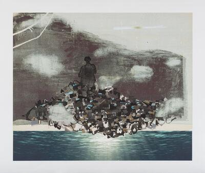 Lisa Bulawsky, 'NP-C018_abstract_black4', 2017
