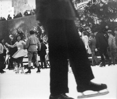 John Albok, 'Rockefeller Center (skate)', ca. 1940