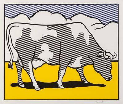 Roy Lichtenstein, 'Cow Triptych: Cow Going Abstract', 1982