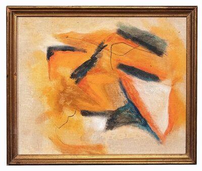 Giorgio Lo Fermo, 'Orange and Black Composition', 2012