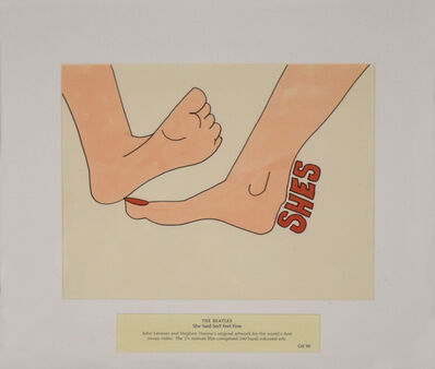 John Lennon, 'The Beatles, She Said So/I Feel Fine, Cel 50', 1966