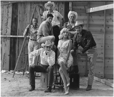 Elliott Erwitt, 'The Misfits, Reno, Nevada', 1960