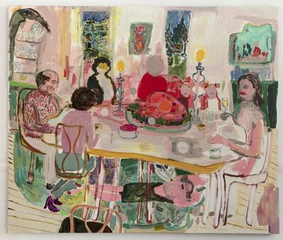 Lisa Sanditz, 'A Possible Christmas Dinner', 2019