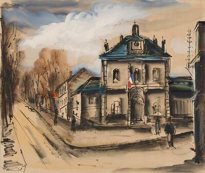 Maurice de Vlaminck, 'La Mairie', circa 1922