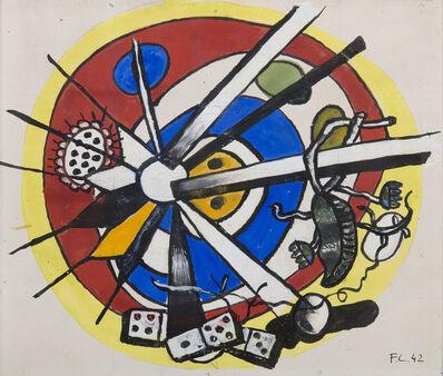 Fernand Léger, 'Composition circulaire', 1942