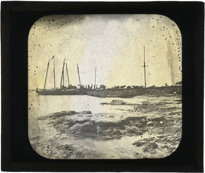Augustus Le Plongeon, '[Coastline, Belize?]', 1873-1924