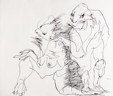 Marina Roca Die, 'Porcupine Couple II', 2015