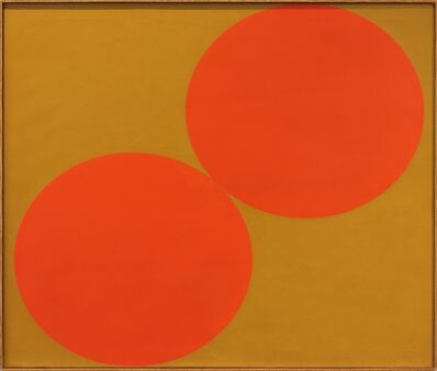Oli Sihvonen, 'Duo, Red and Ochre', 1962