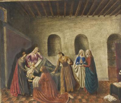 Gisberto Ceracchini, 'Nativity of the Virgin, Sletch for Segezia fresco', 1945-46