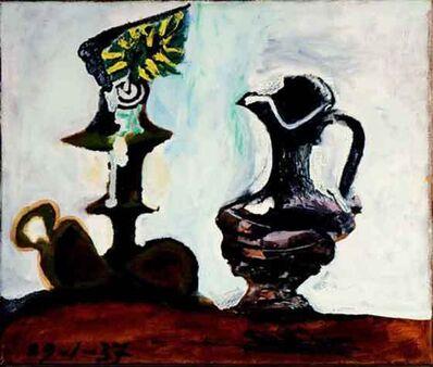 Pablo Picasso, 'Nature morte au bougeoir et à la cruche ', 1937