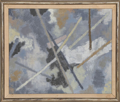 Raymond Abner, 'Espace en Gris', 1956