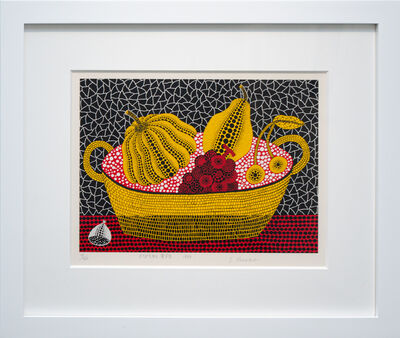 Yayoi Kusama, 'Pumpkin and Fruits', 1993