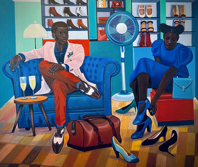 Moses Zibor, 'What To Choose', 2021