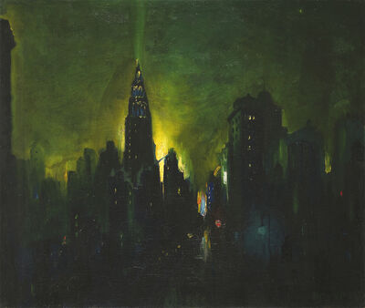 Leon Dolice, 'New York Nocturne'