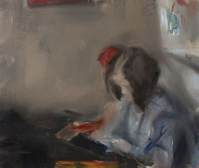 Edwin Dickinson, 'Helen Sewing ', 1938