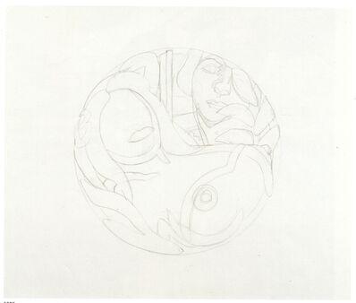 Tom Wesselmann, 'Study for Nude Tondo', 1993