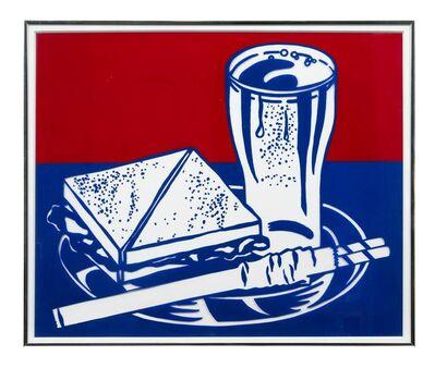 Roy Lichtenstein, 'Sandwich & Soda (from Ten Works x Ten Painters)', 1964