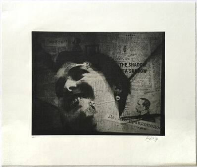 William Kentridge, 'Lady's Face (from Nose Portfolio)', 2010