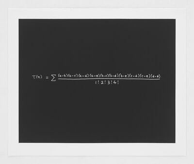 Freeman Dyson, 'The MacDonald Equation', 2014