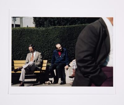Lynn Hershman Leeson, 'Roberta and Blaine in Union Square, Untitled, Roberta Missing', 1975