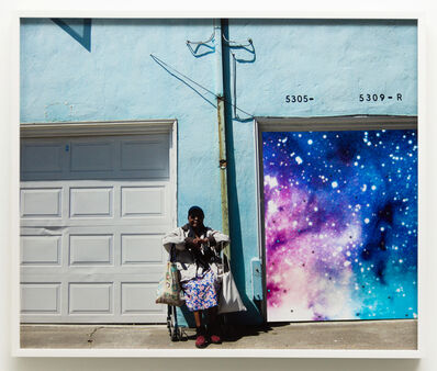 Sadie Barnette, 'Untitled (Oakland lady, space)', 2019