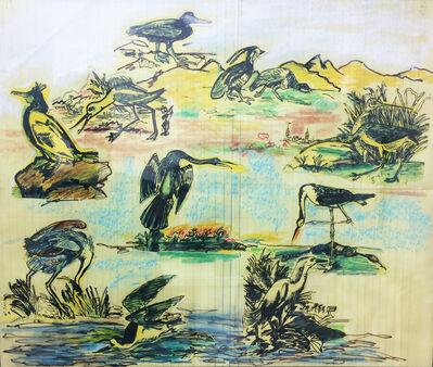 Larry Rivers, 'Audubon's Large Birds', 1997